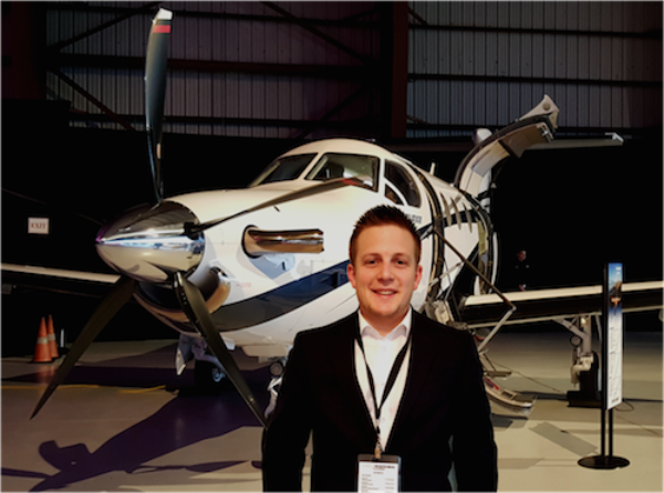 Employee Spotlight: Luke Leonard, Pilatus Sales Associate